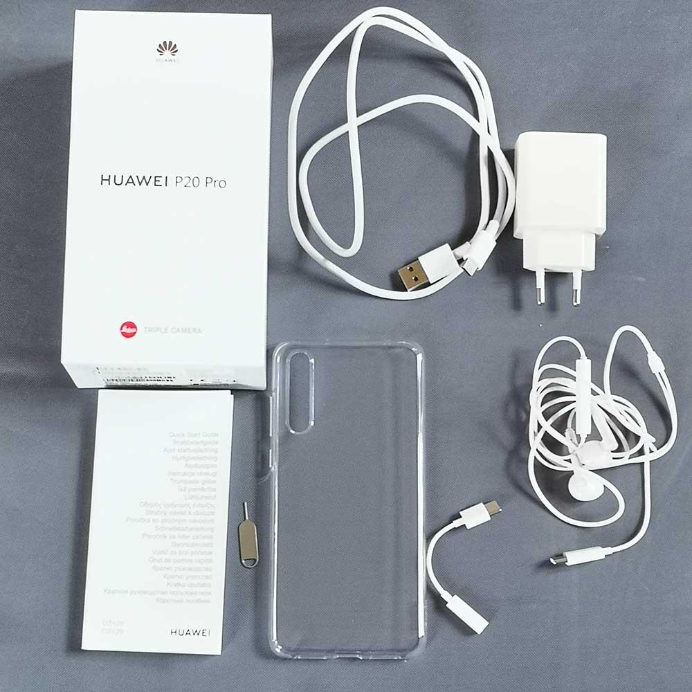 Huawei P20 Pro Lieferumfang