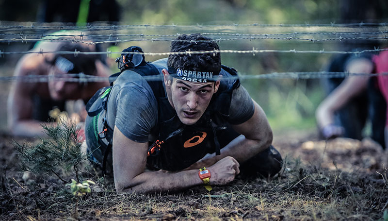 Sportarten für echte Männer Spartan Race