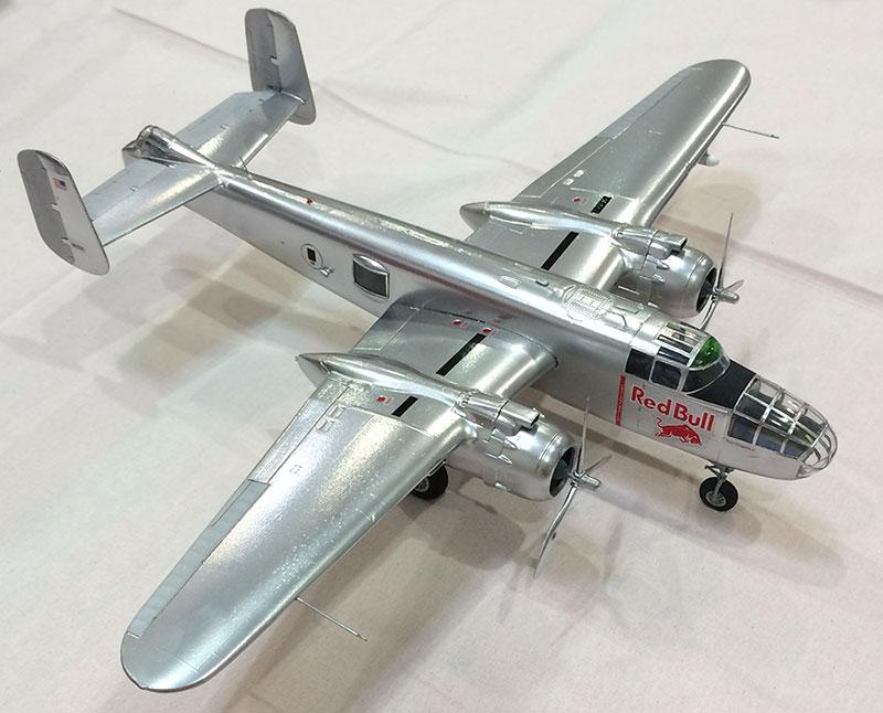 Männerhobbys Plastikmodellbau Flugzeug