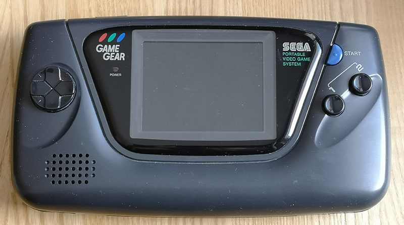 Mobile Retro Game Konsolen Sega Game Gear