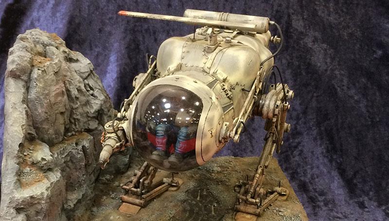 Plastikmodellbau Moonpatrol