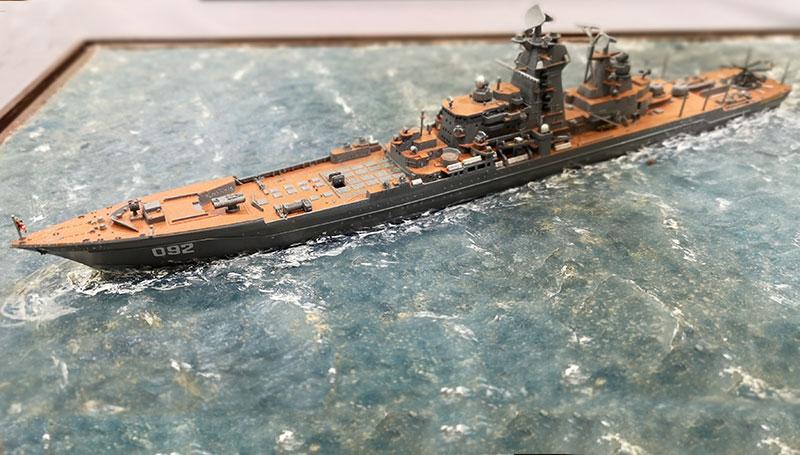 Plastikmodellbau Schiff