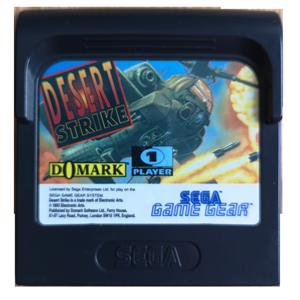 Sega Game Gear Desert Strike