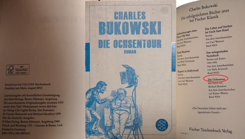 Fischer Verlag Charles Bukowski