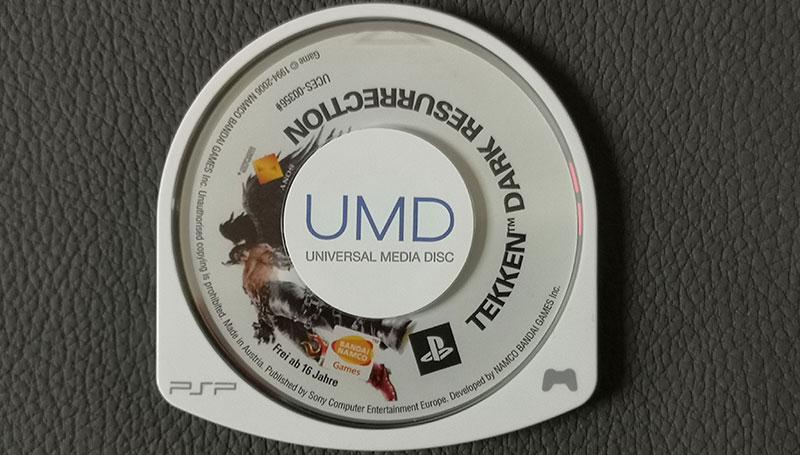 Mobile Retro Konsolen Sony PSP Tekken Dark Resurrection