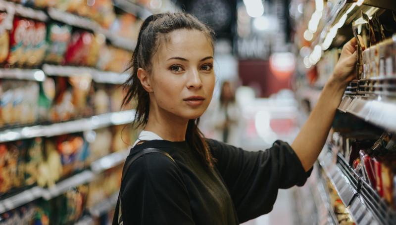 Männerreich im Supermarkt Frauen ansprechen