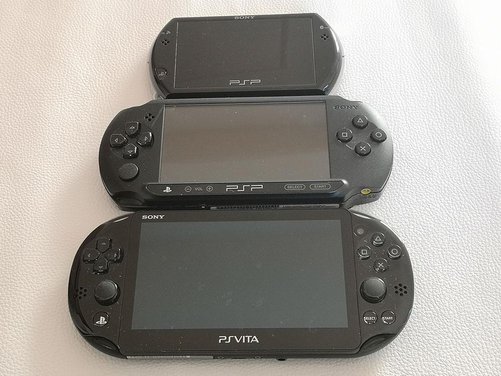 Männerreich Sony PSP Vergleich